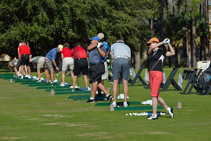 Golf Practice Facilities at Plantation Bay