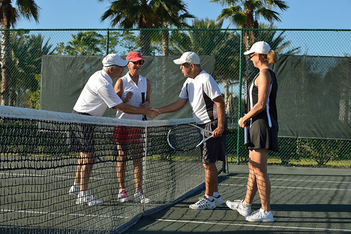 Tennis Leagues at Plantation Bay