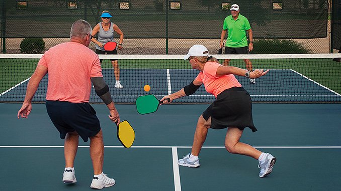 Pickleball at Plantation Bay