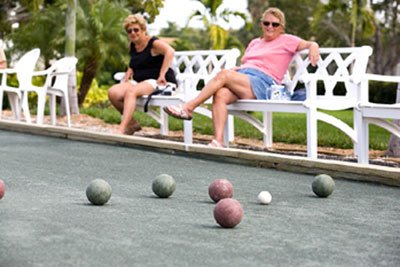 Bocce at Plantation Bay