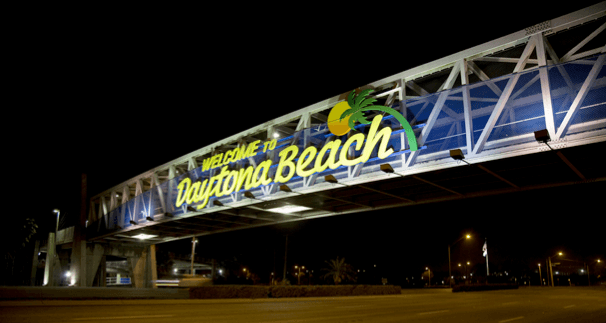 Speedweeks 2014 Survival Guide - daytona sign