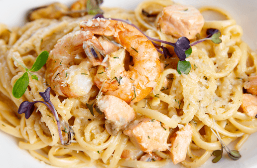 Plantation Bay Foodie? Check out Flagler Restaurant Week - shrimp pasta