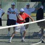 Tennis Director Receives Merit Award