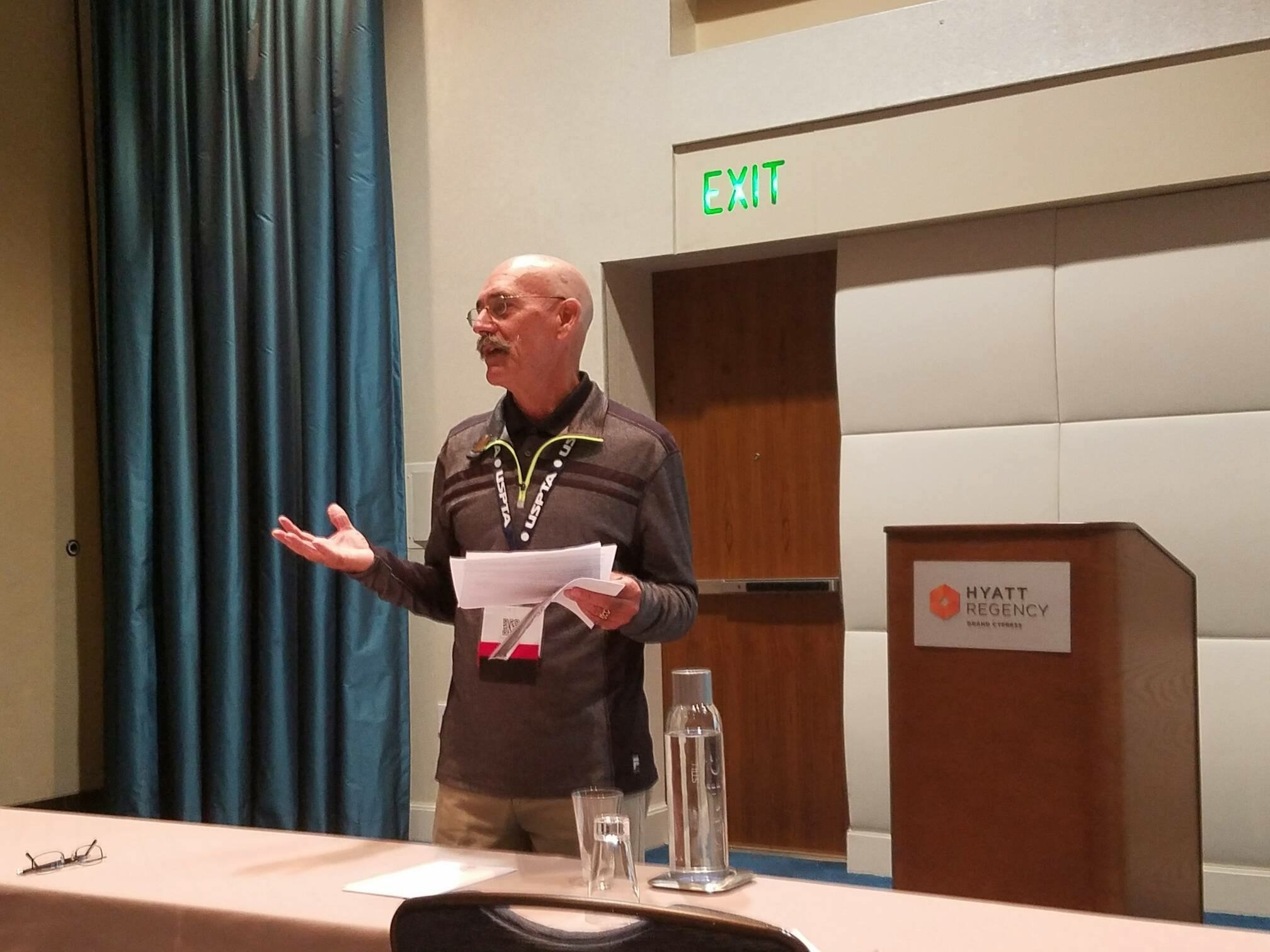 """Dave Brown Attends USPTA Florida Division Convention """"Raising the Bar of Excellence"""" - IMG 3021"""