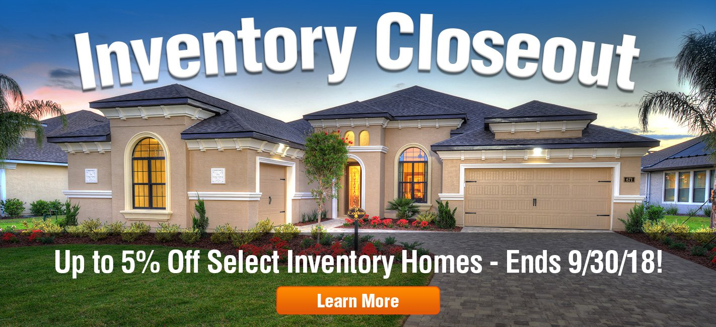 Inventory Closeout at Plantation Bay