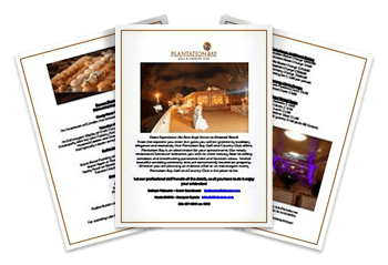 Plantation Bay Wedding Brochure