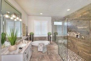 Master Bathroom in Egret II