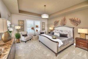 Master Bedroom in Egret II