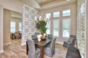 Dining Room in Egret VII