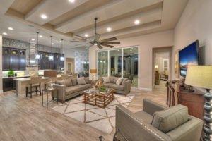 Living Room in Egret VII