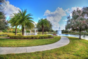 Water Features and Gazebos in Plantation Bay Parks