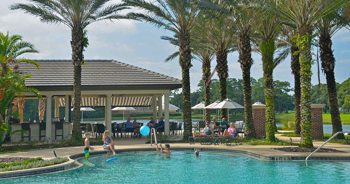 Two Pools, Much Fun: Plantation Bay's Pool Pavilion - ICIPlantationBay pool pavillion