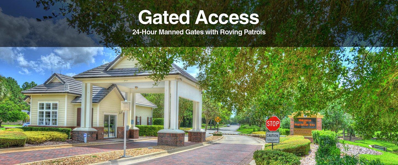 Gated Access at Plantation Bay Golf and Country Club