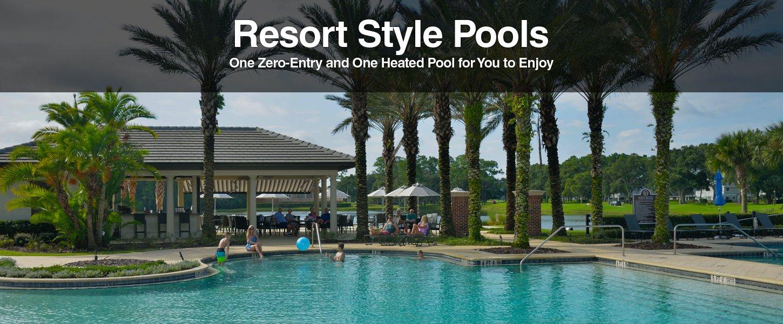 Resort style pools at Plantation Bay Golf and Country Club