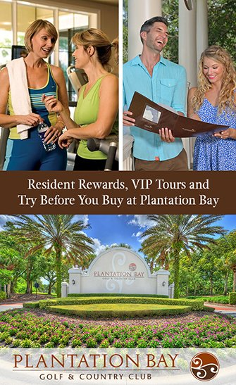 Resident Rewards, VIP Tours and Try Before You Buy at Plantation Bay