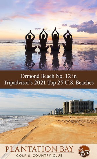 Ormond Beach No. 12 in Tripadvisor's 2021 Top 25 U.S. Beaches